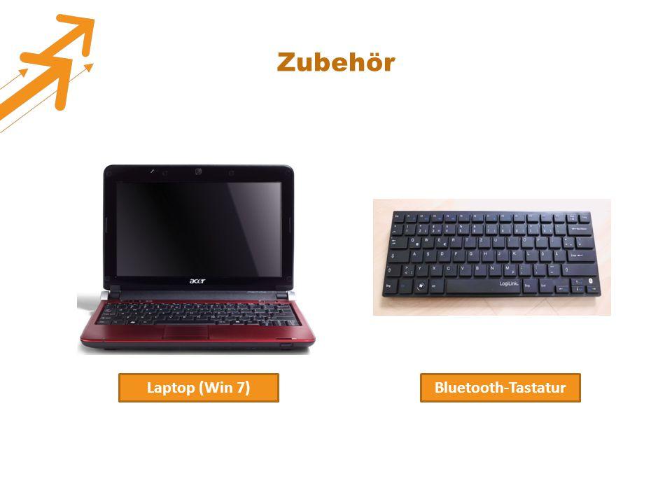 Zubehör Laptop (Win 7)Bluetooth-Tastatur