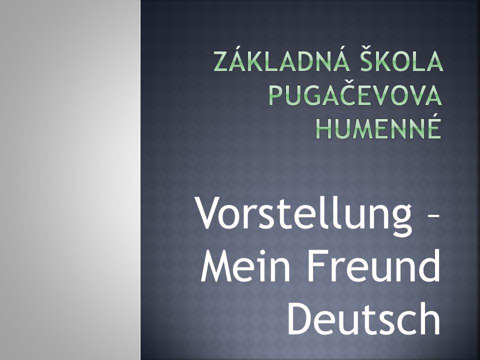 Vorstellung – Mein Freund Deutsch