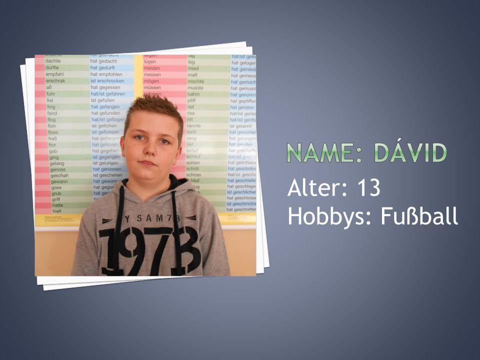 Alter: 14 Hobbys: Tanzen