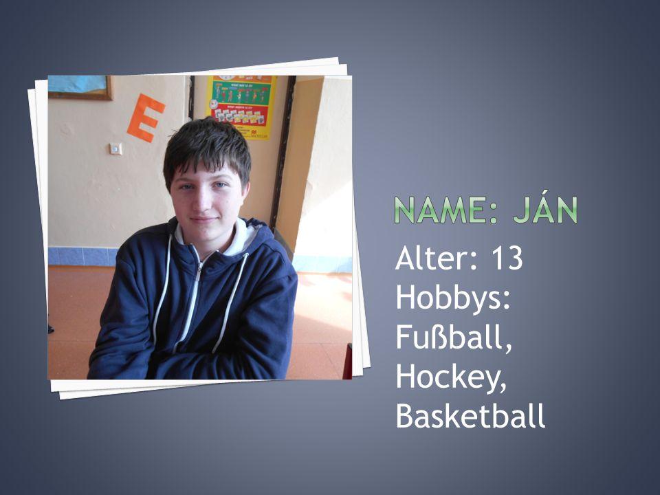 Alter: 13 Hobbys: Tanzen