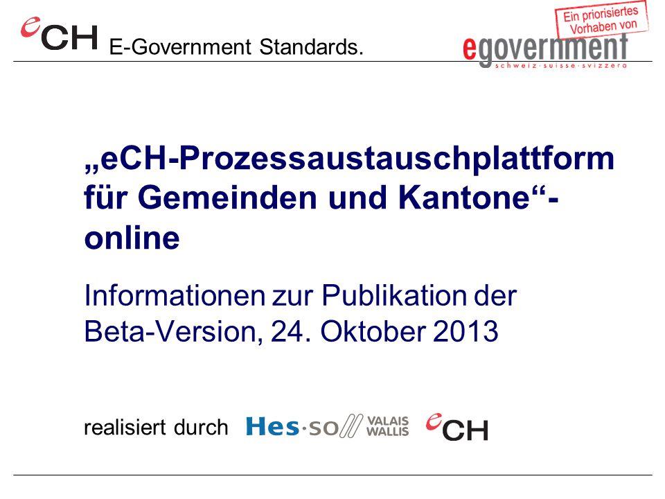 E-Government Standards.