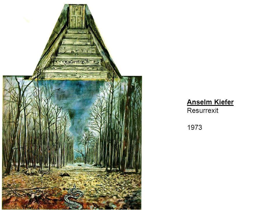 Anselm Kiefer Resurrexit 1973