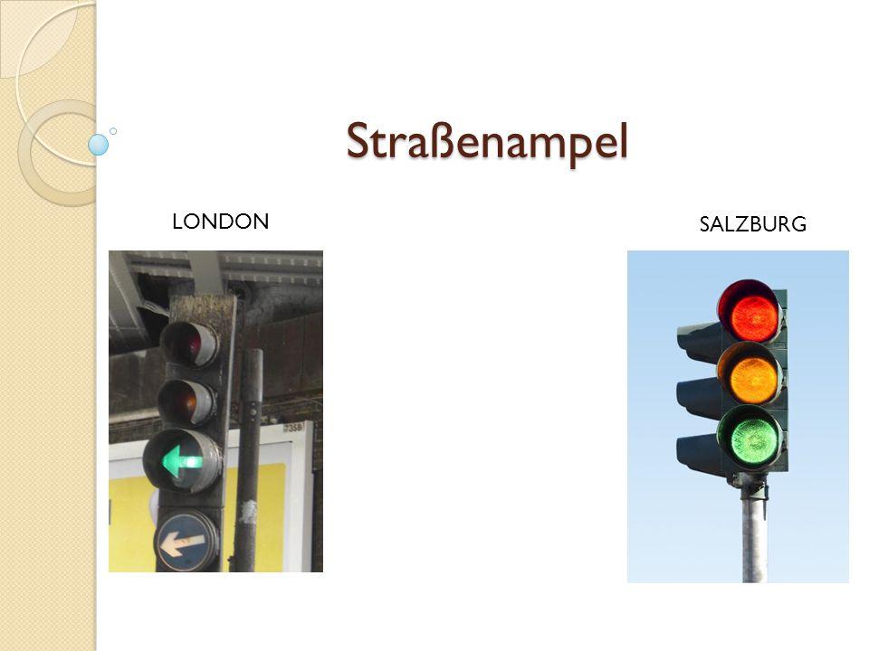 Straßenampel LONDON SALZBURG