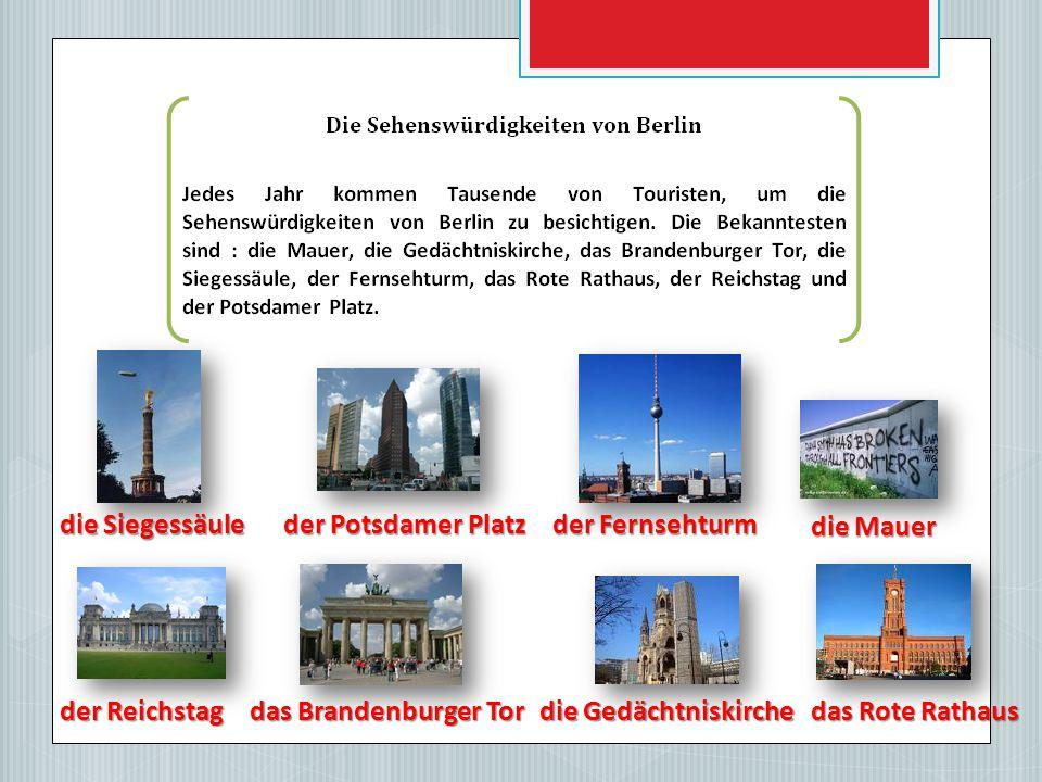 Der Tag der Deutschen Einheit ist am 3. Oktober 1990.