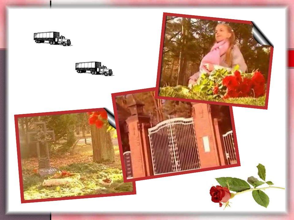 """Dort legte sie die Rosen behutsam auf ein Grab. Ich hörte grad noch wie sie sagte: """" Schau Mama, was ich hab."""" Die Sonne ging grad unter und ich ging"""