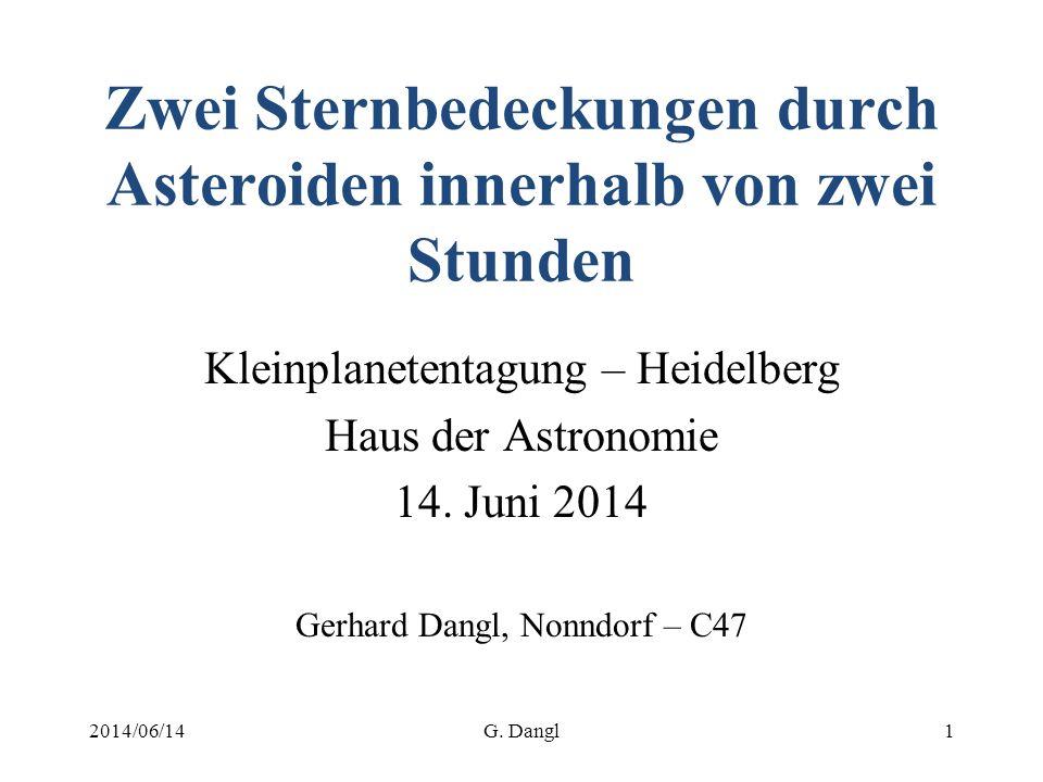 OccultWatcher Stationen für (51) Nemausa Bedeckung 2014/06/14G. Dangl12