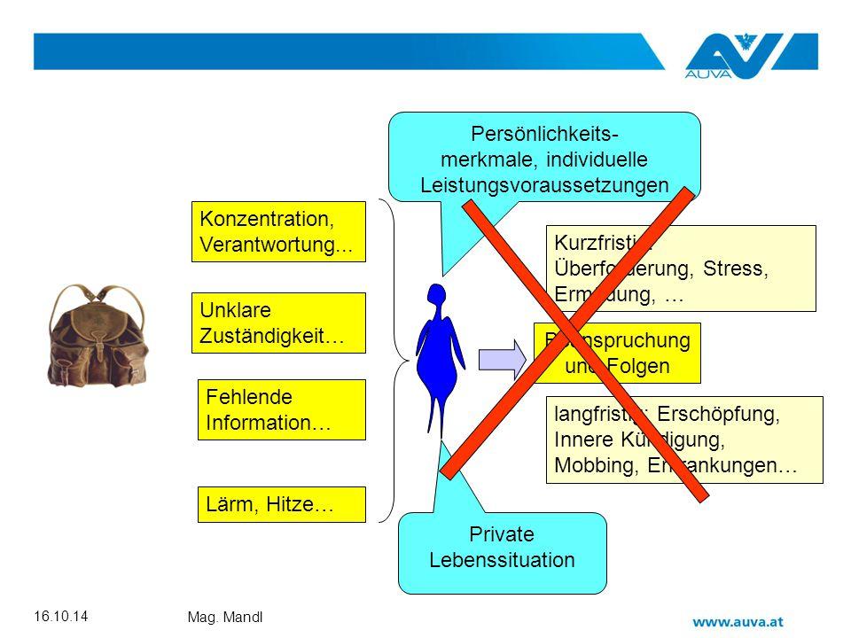 Rupert Mandl Fragebogen 4 Skalen 22 Fragen Orientierendes Niveau Erfüllt Testgütekriterien (Objektivität, Validität, Reliabilität)