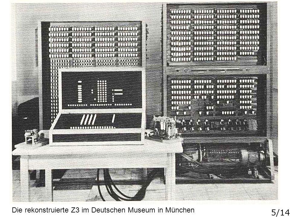 5/14 Die rekonstruierte Z3 im Deutschen Museum in München