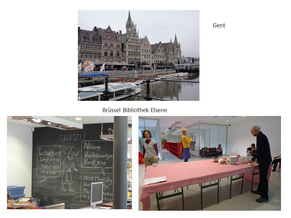 Gent Brüssel Bibliothek Elsene