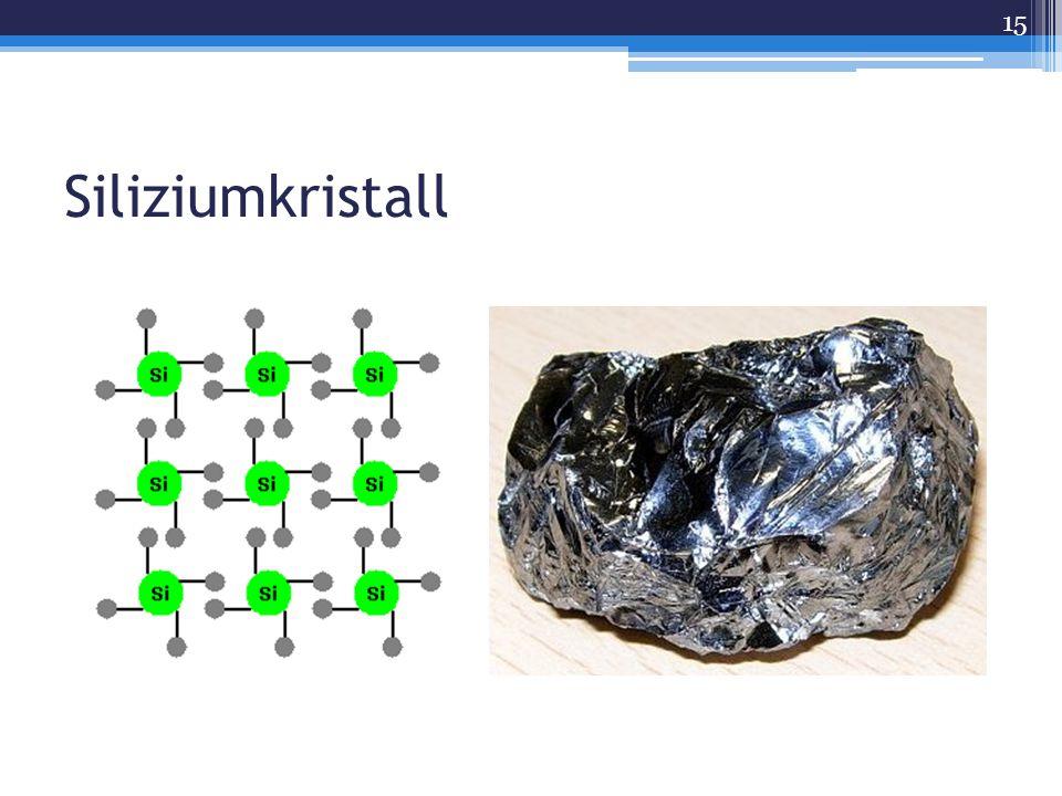 Siliziumkristall 15