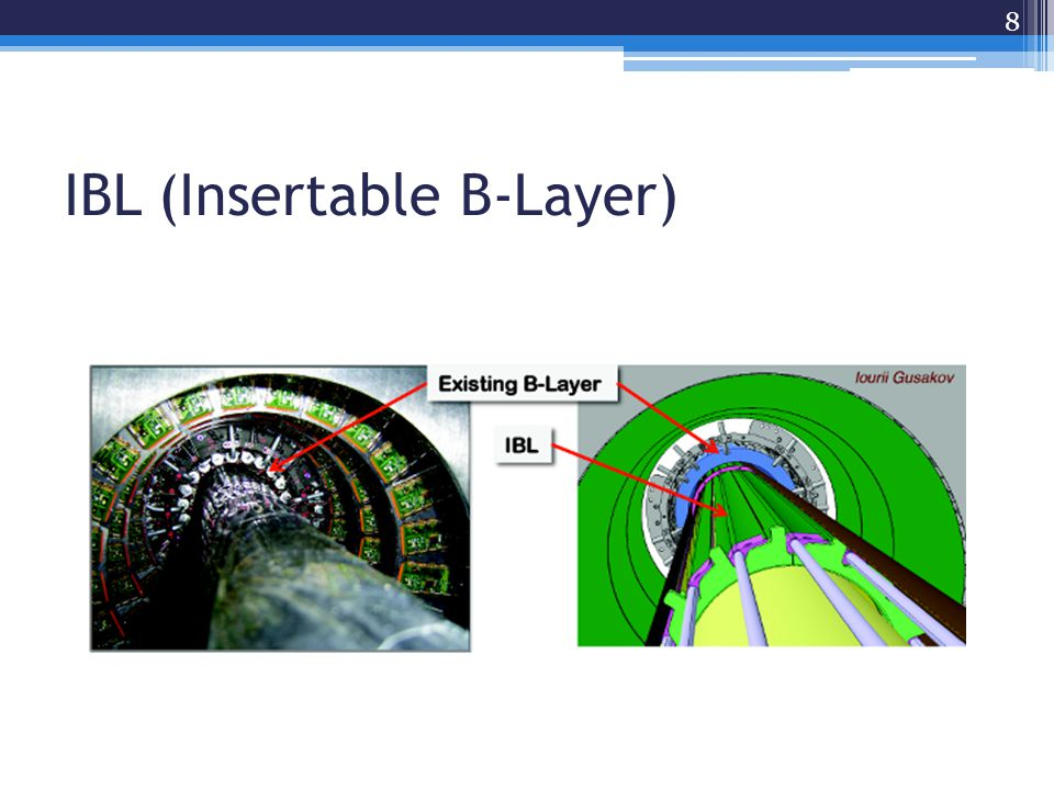 IBL (Insertable B-Layer) 8