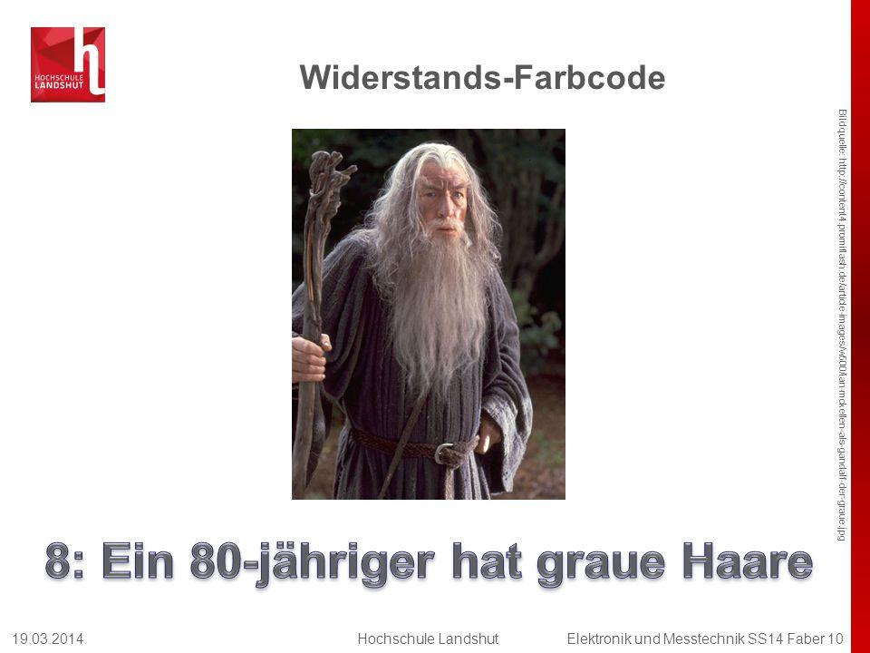 Widerstands-Farbcode Bildquelle: http://content4.promiflash.de/article-images/w500/ian-mckellen-als-gandalf-der-graue.jpg 19.03.2014Hochschule Landshu
