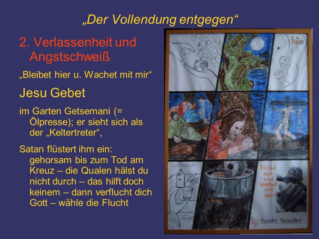 """""""Der Vollendung entgegen 3."""