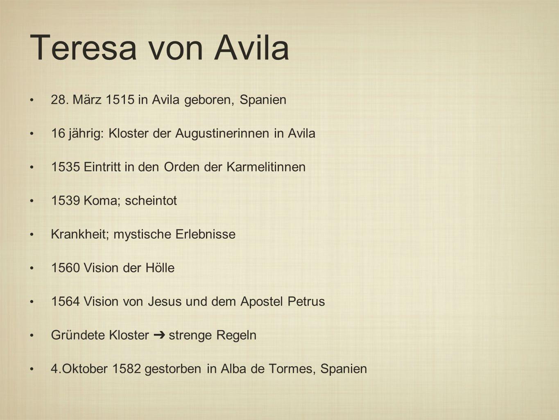 Teresa von Avila 28.