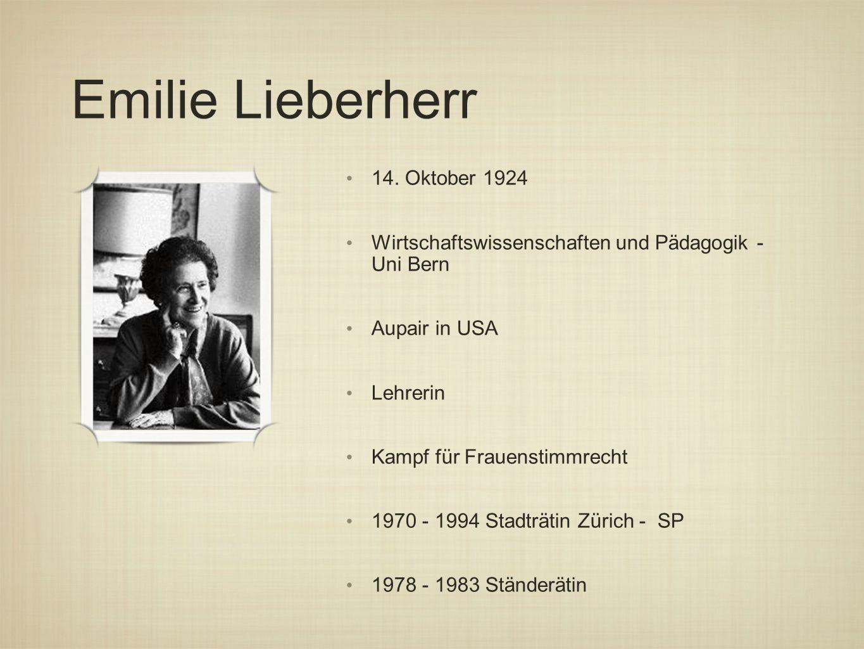 Emilie Lieberherr 14.