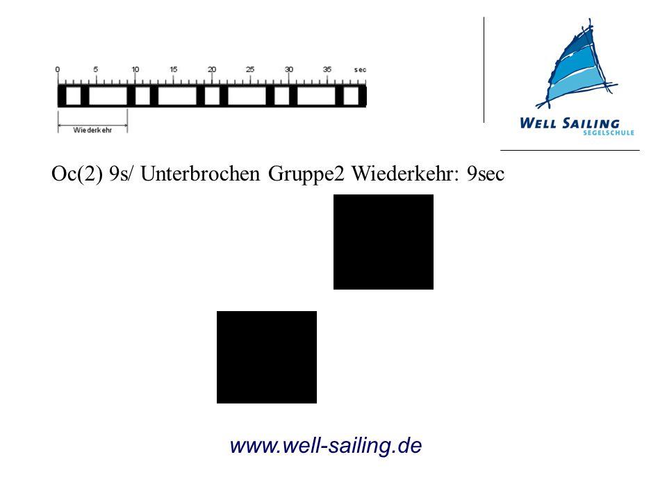 Oc(2) 9s/ Unterbrochen Gruppe2 Wiederkehr: 9sec