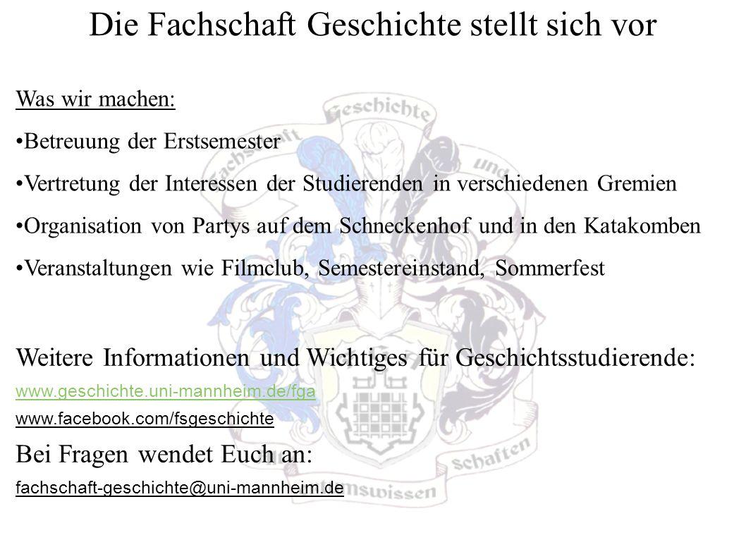 Unsere Veranstaltungen Ersti-Brunch Mittwoch, 27.08.