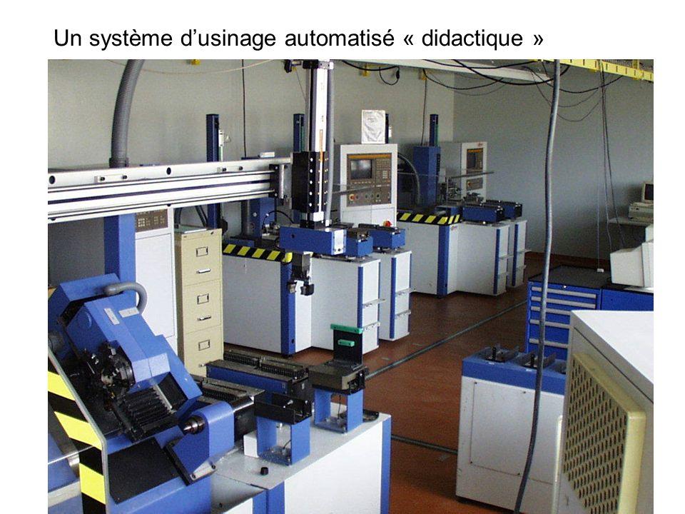 Un système d'usinage automatisé « didactique »