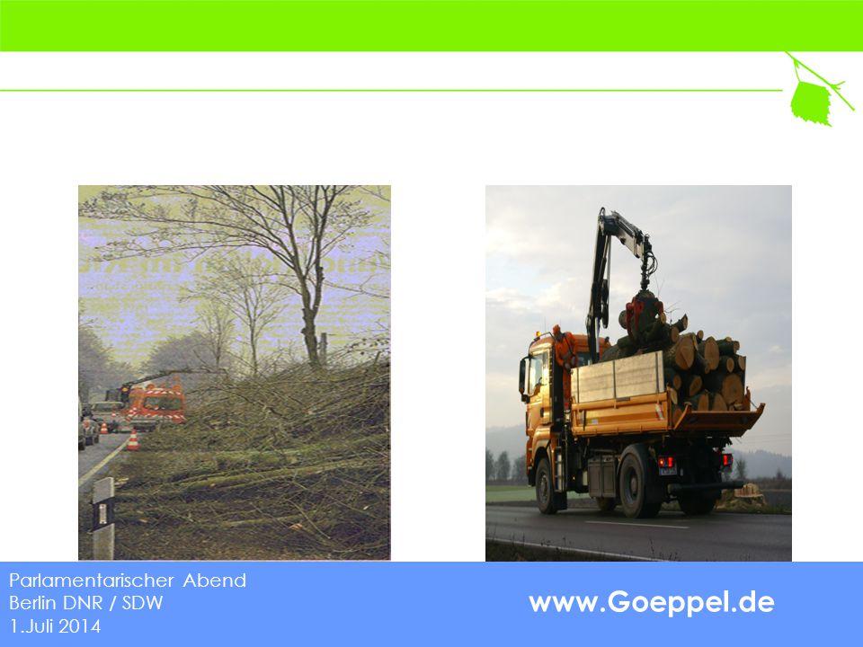 www.Goeppel.de Europäische Richtlinie 2008/96/EG (2010) Parlamentarischer Abend Berlin DNR / SDW 1.Juli 2014