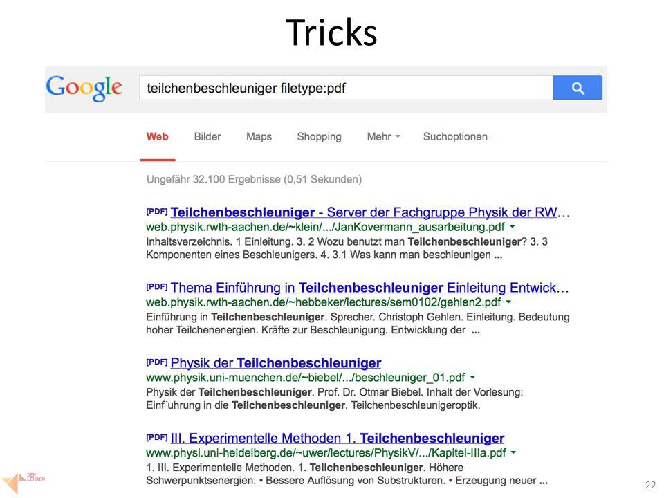 22 Tricks
