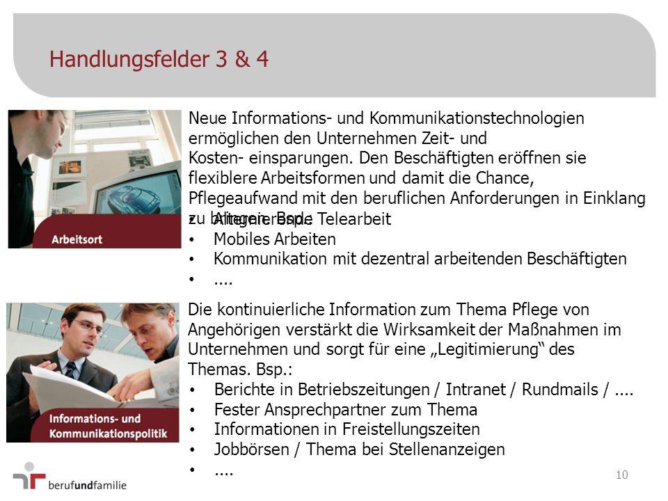 Berichte in Betriebszeitungen / Intranet / Rundmails /.... Fester Ansprechpartner zum Thema Informationen in Freistellungszeiten Jobbörsen / Thema bei
