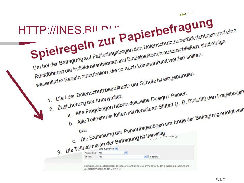 Folie 8 HTTP://INES.BILDUNG-RP.DE