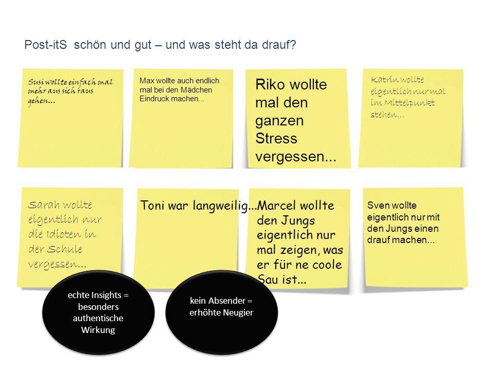 Guerilla-Marketing Aktion 2 Du hast Post !