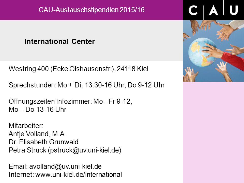 Westring 400 (Ecke Olshausenstr.), 24118 Kiel Sprechstunden:Mo + Di, 13.30-16 Uhr, Do 9-12 Uhr Öffnungszeiten Infozimmer: Mo - Fr 9-12, Mo – Do 13-16