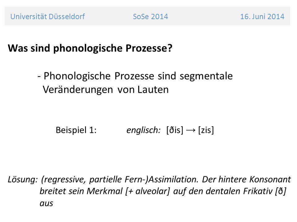 Ping der Pinguin Besondere Merkmale: - eingeschränkte Artikulationsfähigkeit - nativer Bewohner von Titivu Universität Düsseldorf SoSe 2014 16.