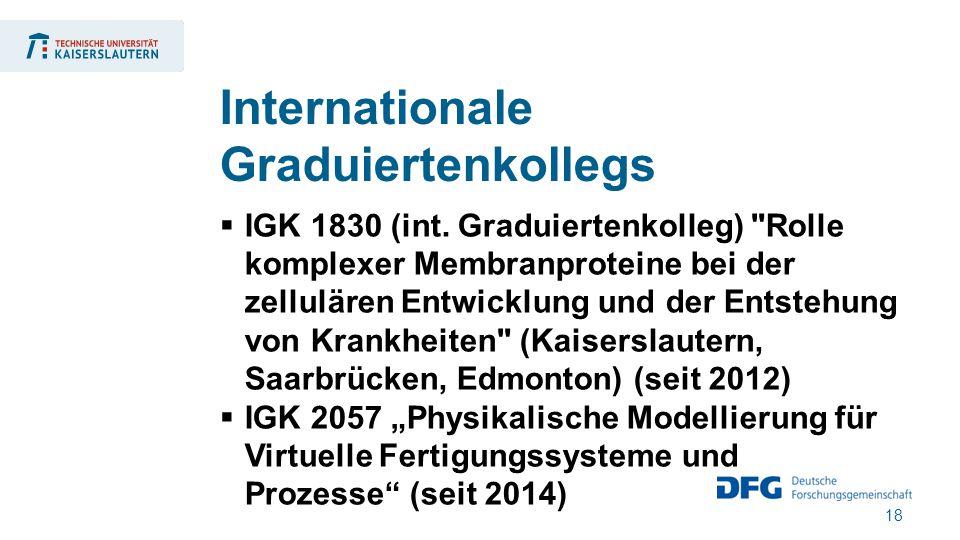 18  IGK 1830 (int. Graduiertenkolleg)