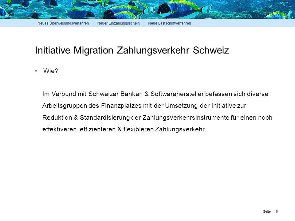 Seite Initiative Migration Zahlungsverkehr Schweiz 7  Wann.