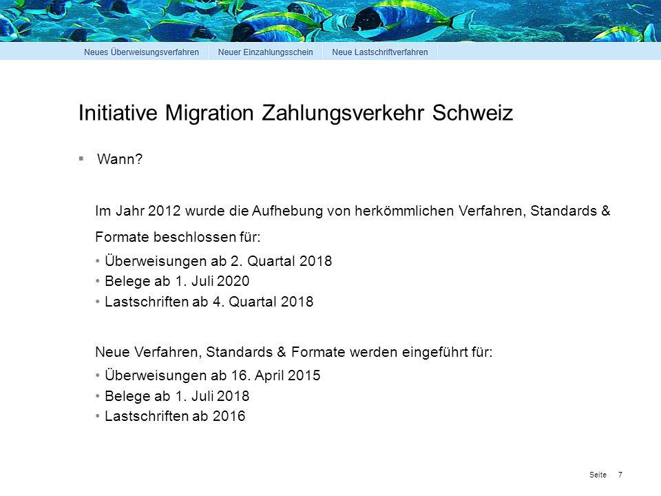 Seite Initiative Migration Zahlungsverkehr Schweiz 8  Warum.