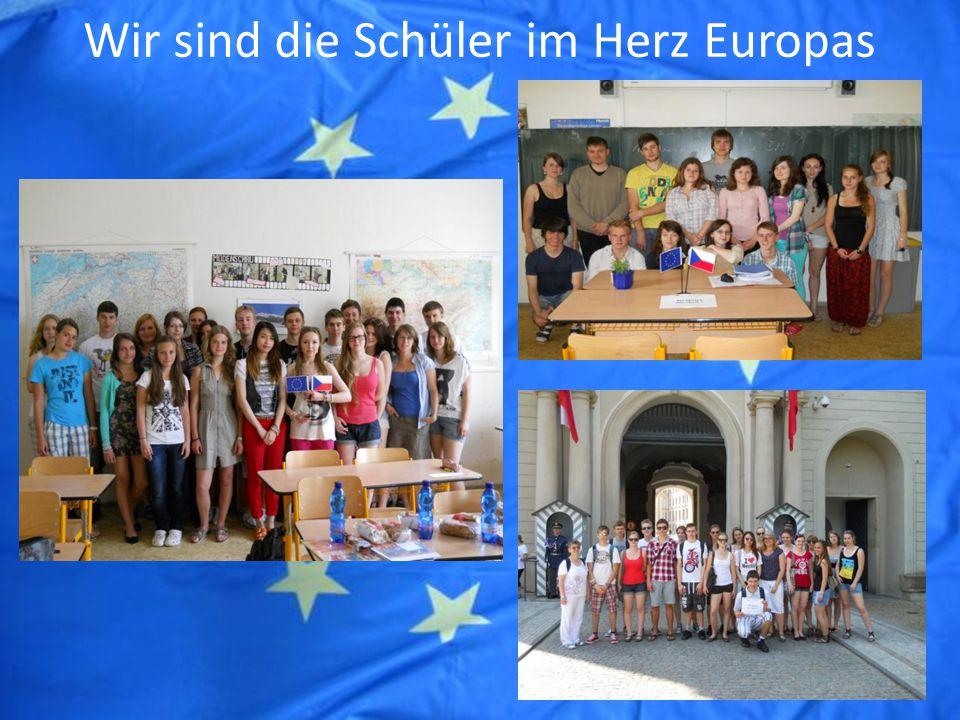 Wir sind die Schüler im Herz Europas