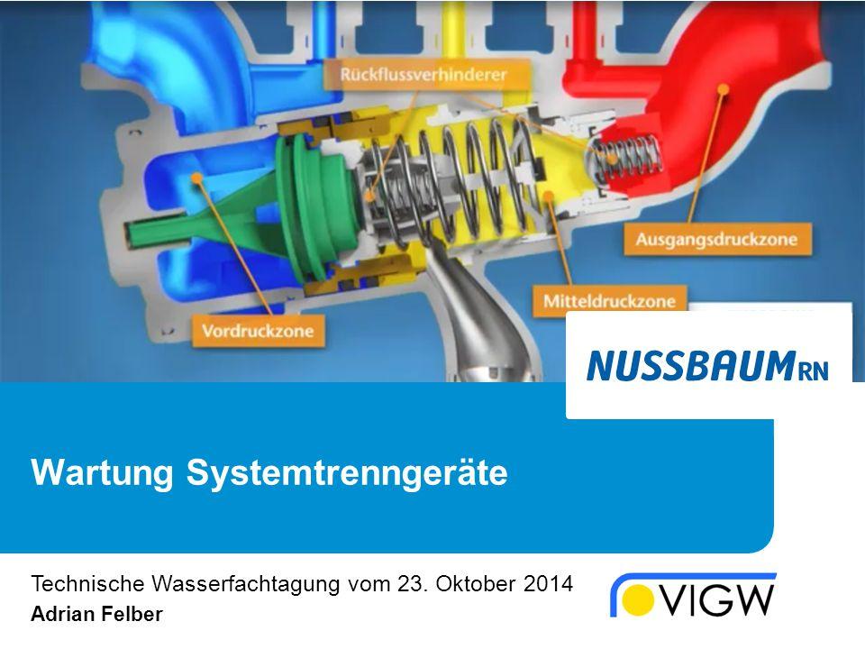 Richtlinien W3/E2 Technische Wasserfachtagung VIGW / 23. Oktober 2014 /17