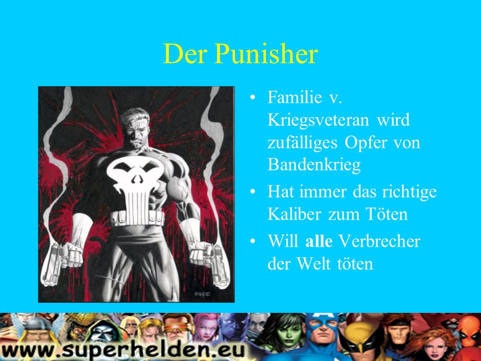 Der Punisher Familie v.
