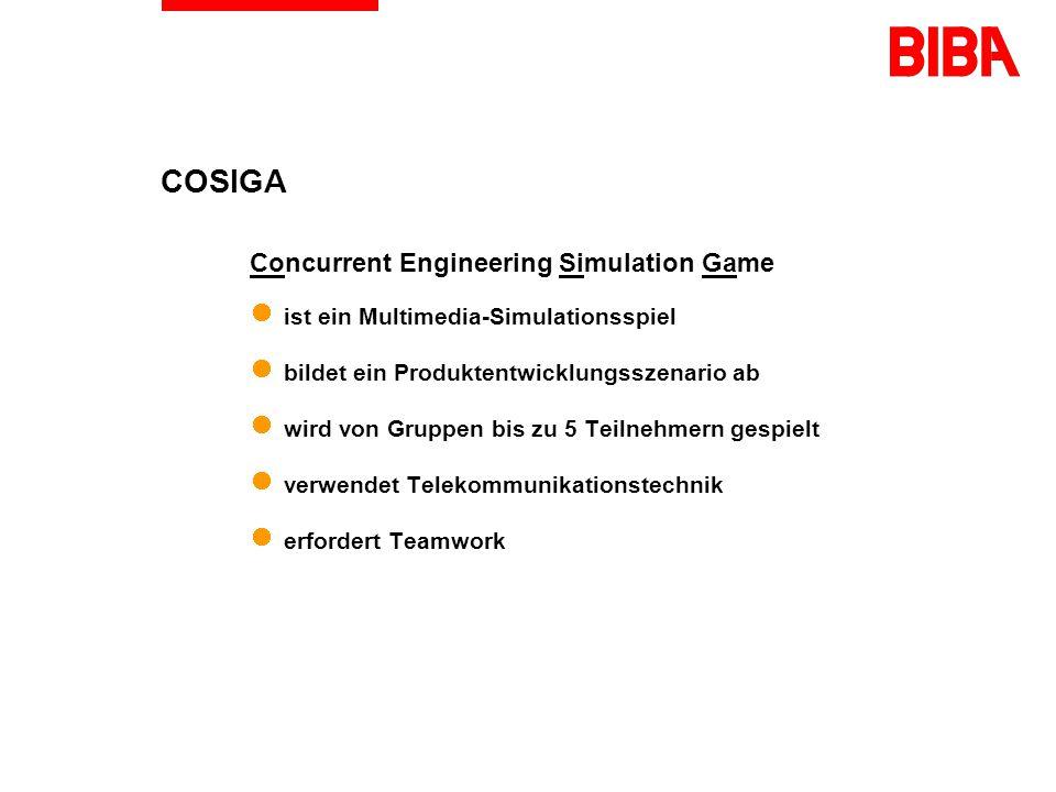 Multimedia in der Produktionstechnik am Beispiel des Computersimulationsspiels COSIGA Jens Hoheisel BIBA, Prof.
