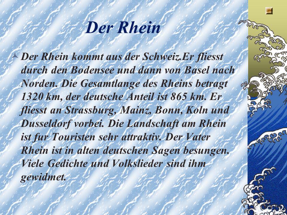 Der romantischste aller deutschen Flusse.Der romantischste aller deutschen Flusse.