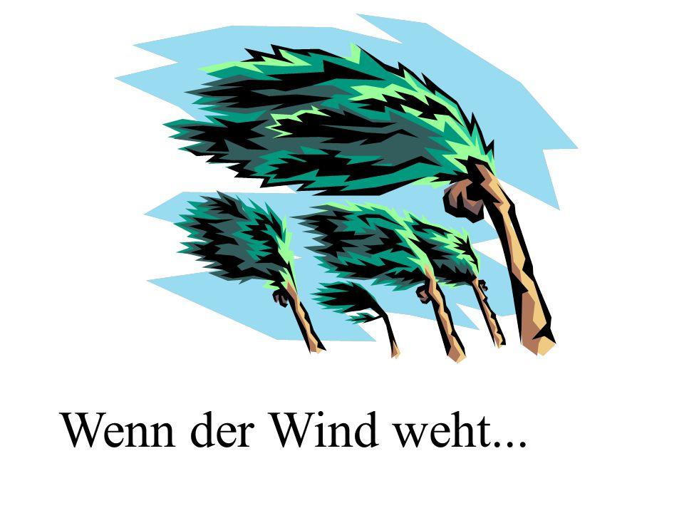 Wenn der Wind weht...