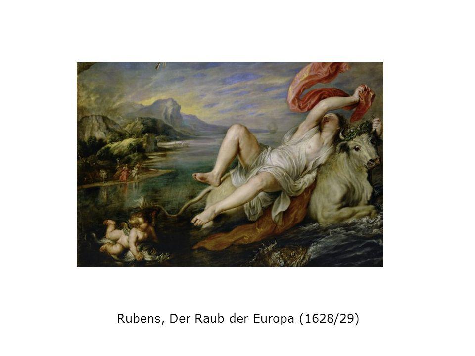 Rubens, Der Raub der Europa (1628/29)
