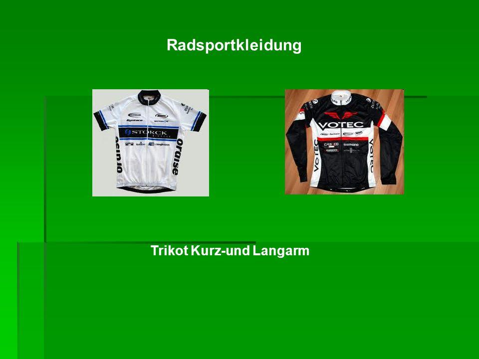 Radsportkleidung Trikot Kurz-und Langarm