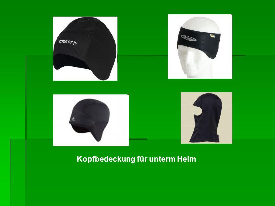 Kopfbedeckung für unterm Helm