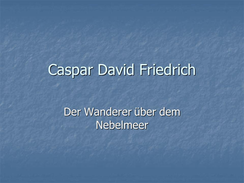 Sie sehen ein Quartett zu Bildern von Caspar David Friedrich.