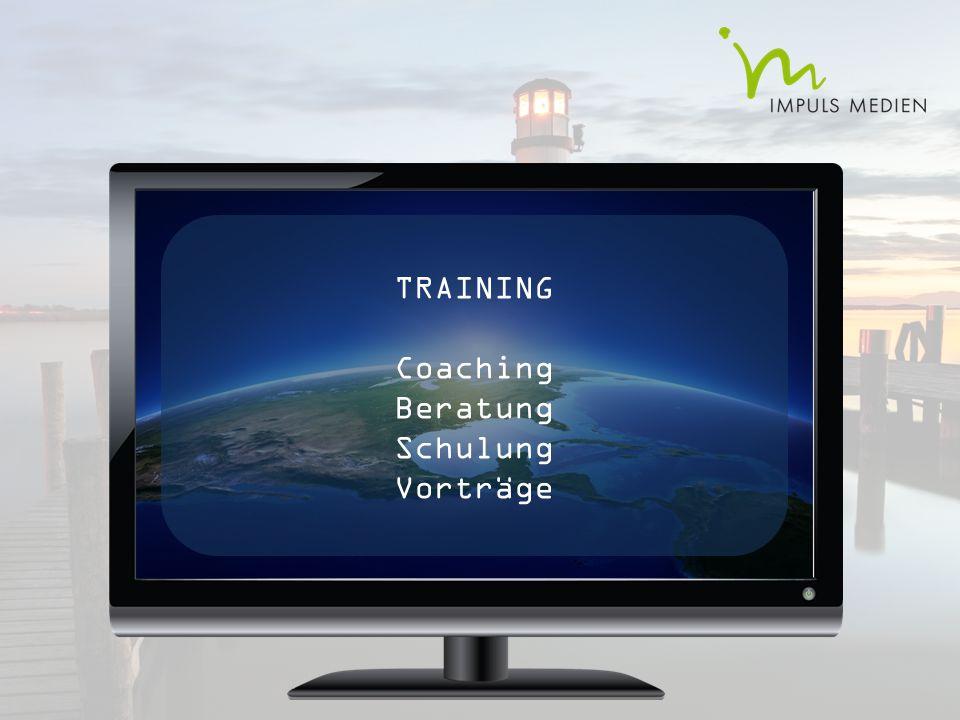 TRAINING Coaching Beratung Schulung Vorträge