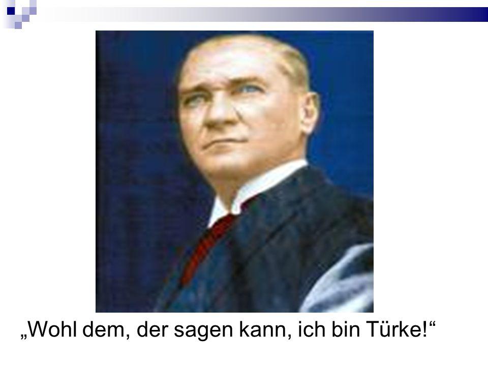 """""""Wohl dem, der sagen kann, ich bin Türke!"""