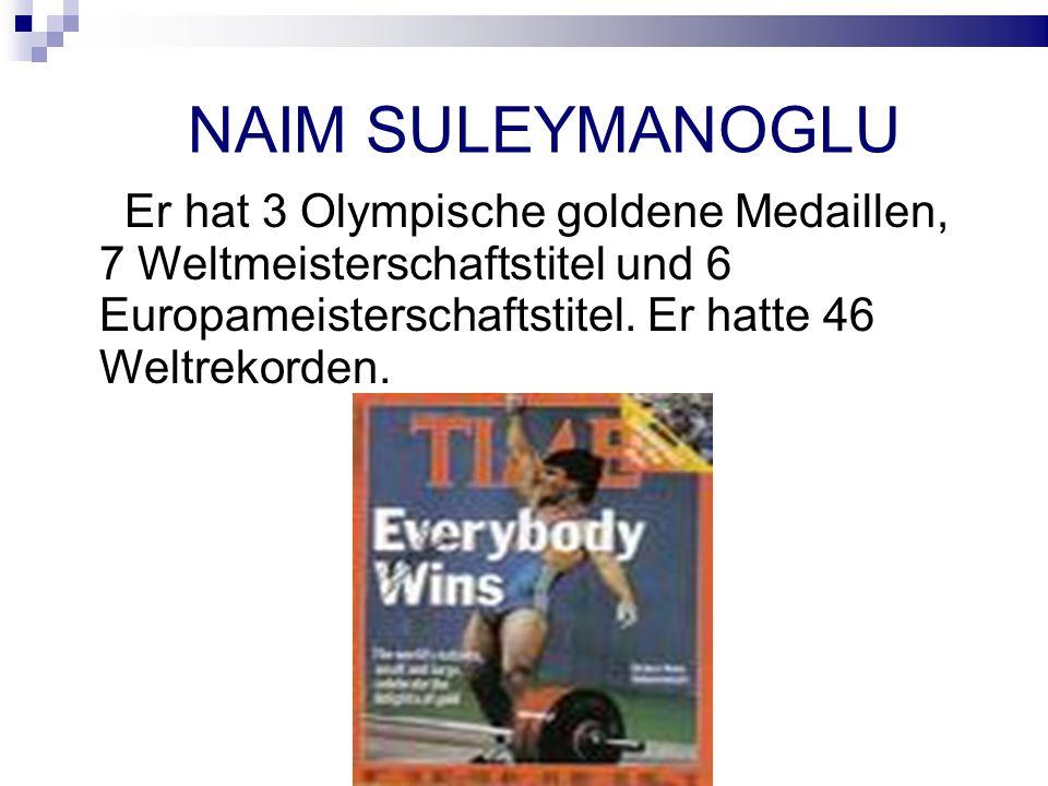 Er hat 3 Olympische goldene Medaillen, 7 Weltmeisterschaftstitel und 6 Europameisterschaftstitel.