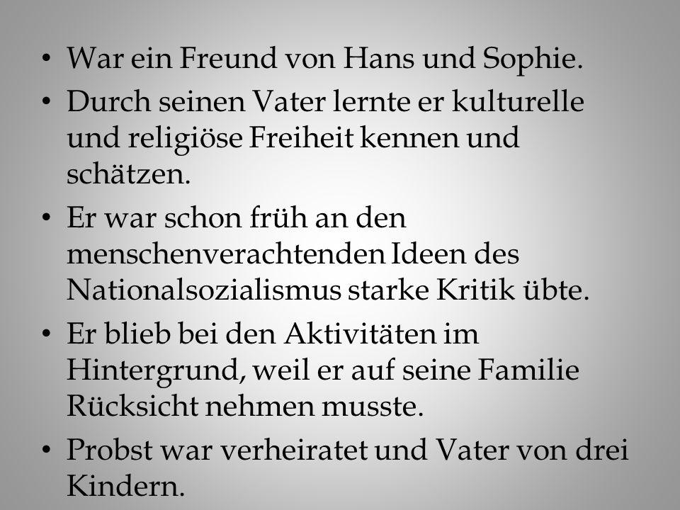 Christoph (Christl) Probst