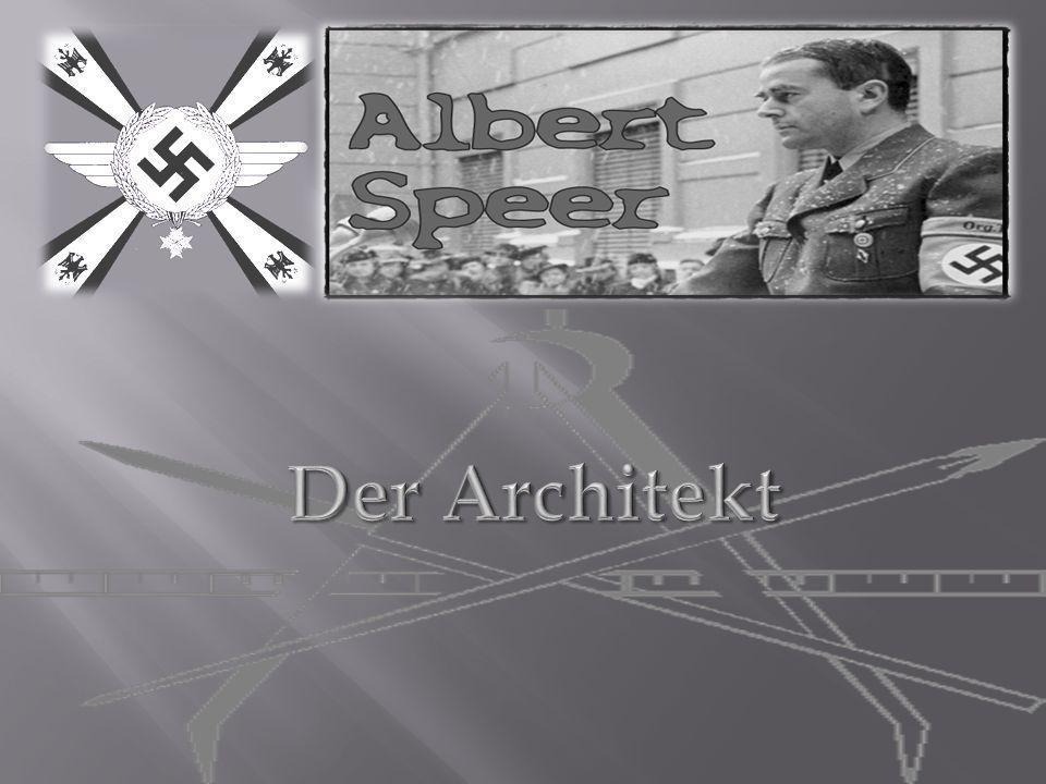 1.Einleitung 2. Steckbrief über Speer 3. 1905 bis 1924 4.