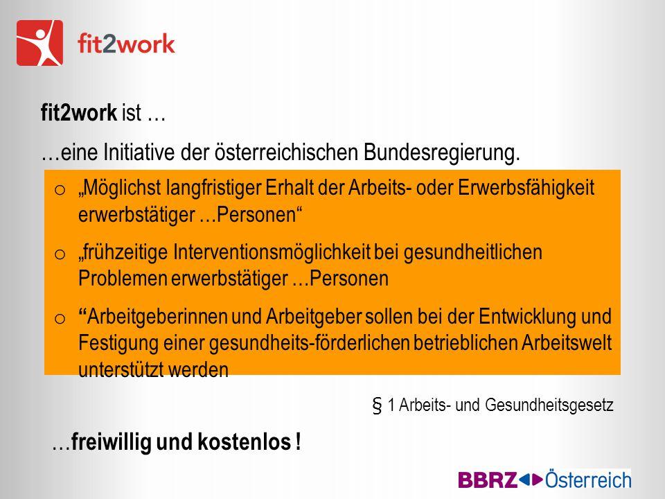 """o """"Möglichst langfristiger Erhalt der Arbeits- oder Erwerbsfähigkeit erwerbstätiger …Personen"""" o """"frühzeitige Interventionsmöglichkeit bei gesundheitl"""