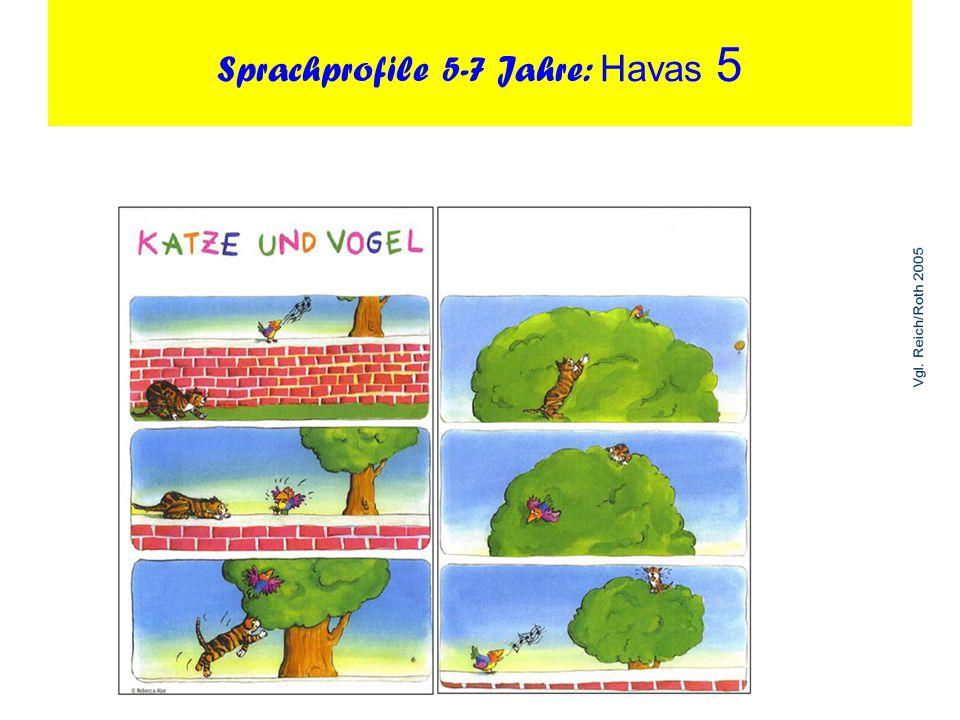 Sprachprofile 5-7 Jahre: Havas 5