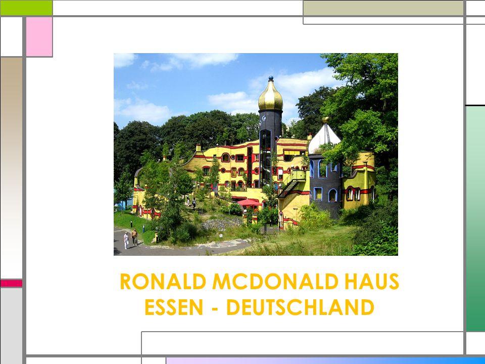 RONALD MCDONALD HAUS ESSEN - DEUTSCHLAND